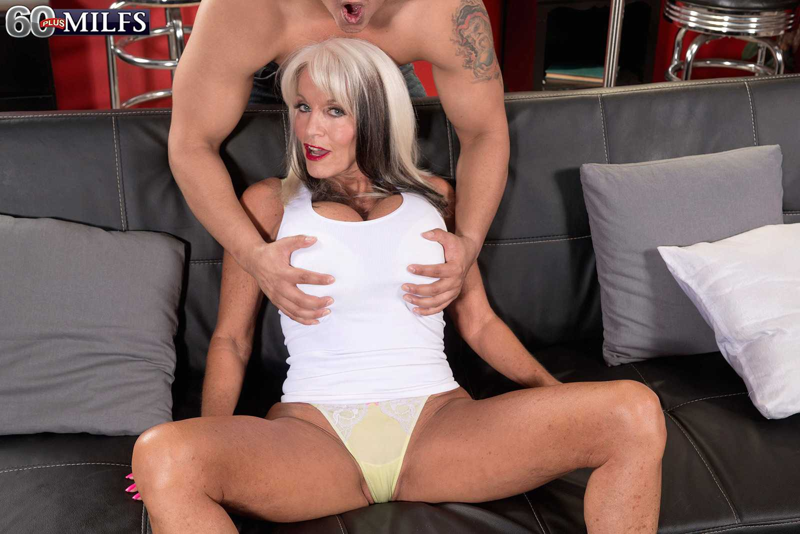60 + MILF Sally D'Angelo Gets Her Backside Fucked