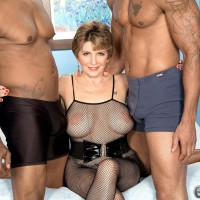 Milf black three way