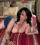Huge-chested over Sixty brunette MILF Rochelle Inviting releasing monster-sized knockers for nipple play