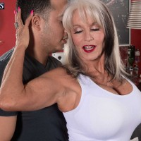60 + Milf Sally D'Angelo Gets Her Backside Fucked