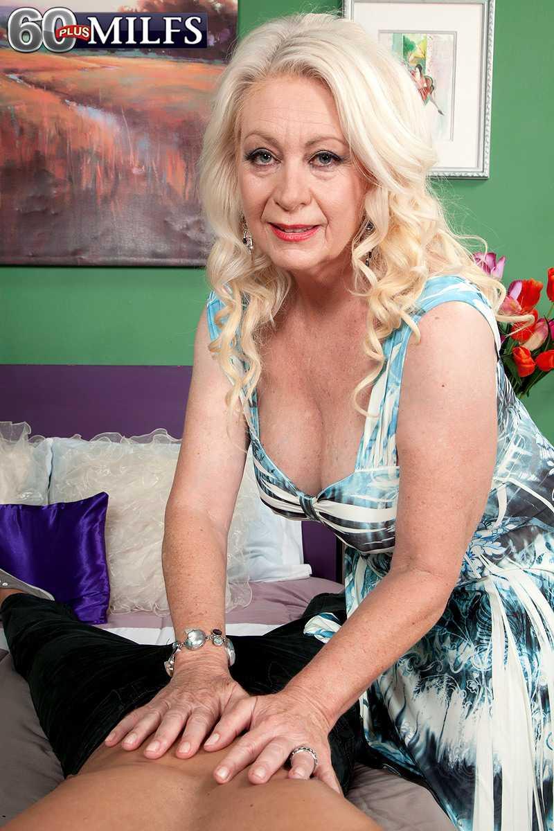 Over 60 MILF Angelique DuBois Gets Cum On Her Face   MILFS 60