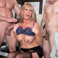 Over Sixty Milf Phoenix Skye Gets Her Backside Packed With Dick