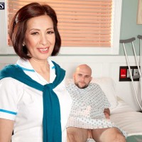Over 60 Nurse Kim Anh Sucks & Fucks The Cock