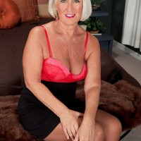 Two Cocks For Over Sixty Milf Jeannie Lou